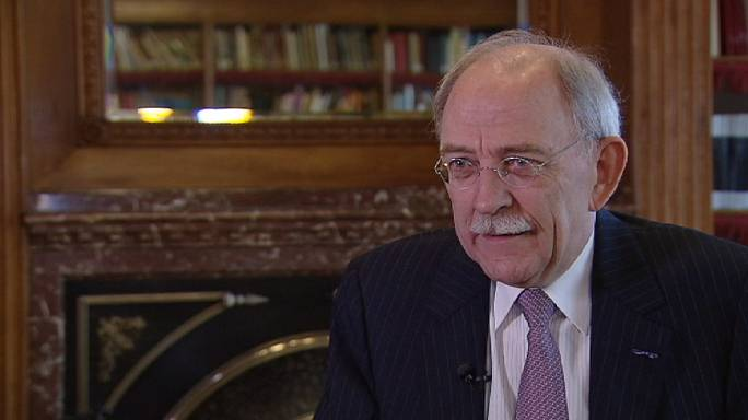 Cees Maas, former Dutch Treasurer-General