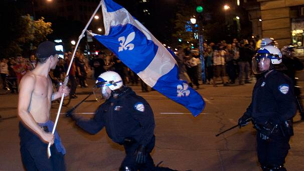 Quebec student rebellion