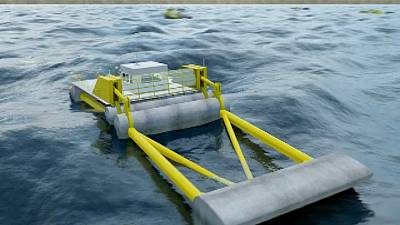 Taming the tide: wave energy