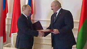 Putin chooses Belarus for first foreign trip