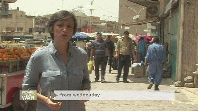 النساء والحرب في العراق