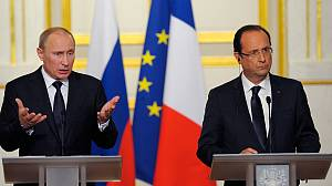 French diplomacy fails to move Putin over Syria