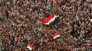 Angry crowds gather after Mubarak sentence