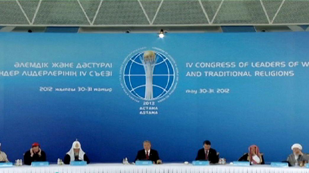 Kazakhstan: i leader religiosi di tutto il mondo a congresso