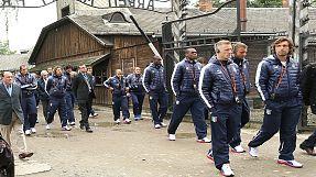 Euro 2012: Azzurri visit Auschwitz