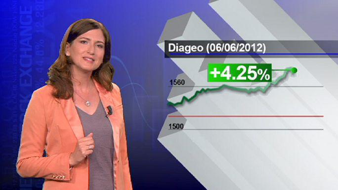 Kriz Diageo'yu teğet geçti