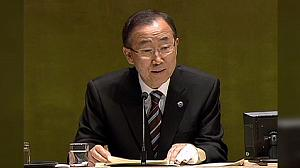 UN chief says monitors 'shot at' in Syria