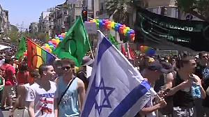Thousands party at Israel Gay Pride in Tel Aviv