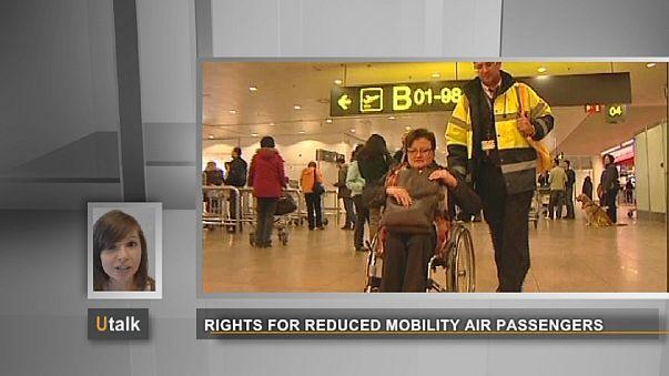 Etwas komplex: EU schützt behinderte Flugreisende