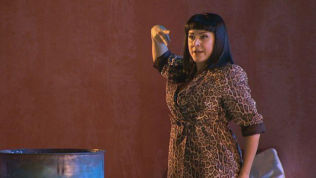 "Musica: Cecilia Bartoli é Cleópatra na ópera ""Júlio César no Egito"""