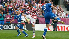 Italy 1 – 1 Croatia: How it happened