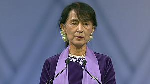 Aung San Suu Kyi finally makes Nobel acceptance speech