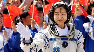 China sends first woman astronaut into orbit