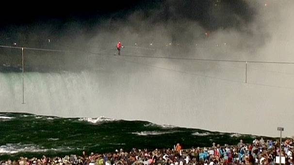 Niagara Falls ‎high wire crossing