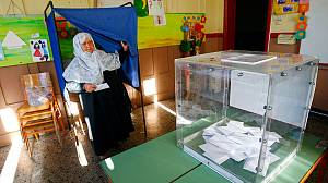 Greece leaders cast votes in crucial repeat election
