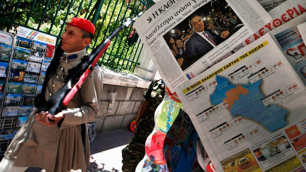 Griechen skeptisch aber voller Hoffnung