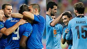 Euro 2012: Spain, Italy go through