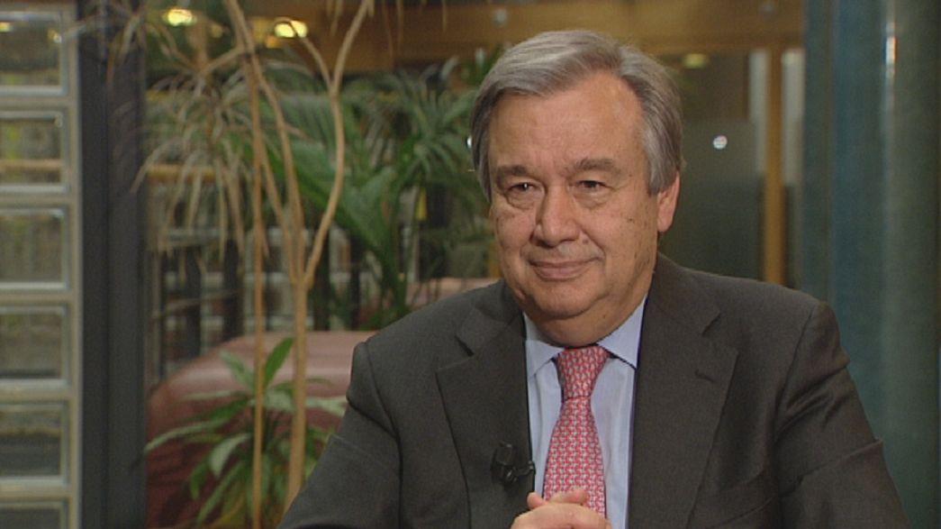 """António Guterres: """"A crise tem impacto na ajuda aos refugiados"""""""