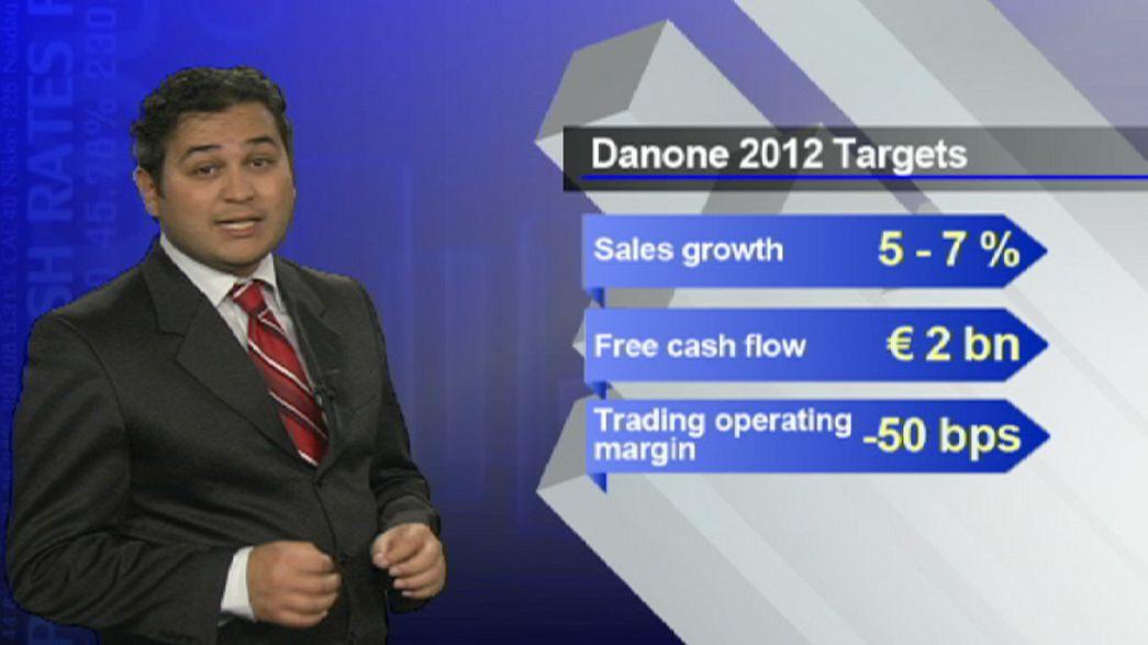Danone revoit sa marge en baisse : le titre plonge en bourse