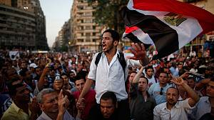 Egyptians protest against military 'power-grab'