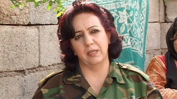 Female army officer wants peace