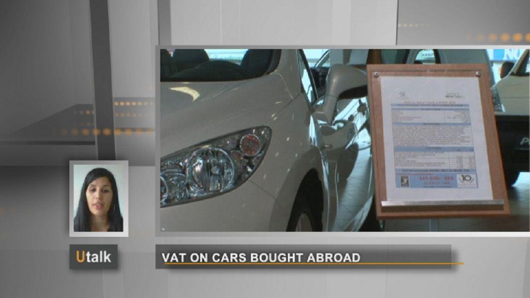 Mehrwertsteuer für Autokauf im EU-Ausland