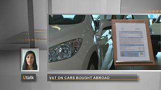 What VAT is due when buying a car?