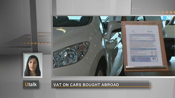 Avrupa'da ülkeler arasında araç satın alırken ödenen vergiler