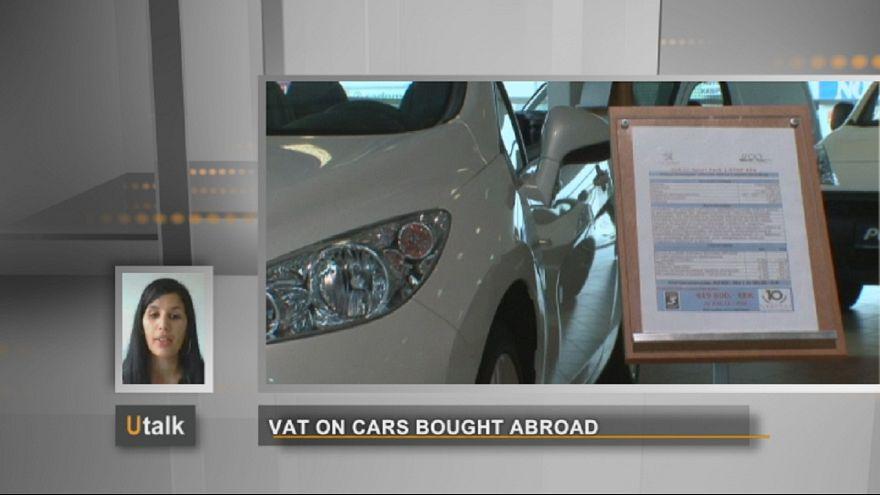 Doit-on payer la TVA sur les voitures achetées à l'étranger?