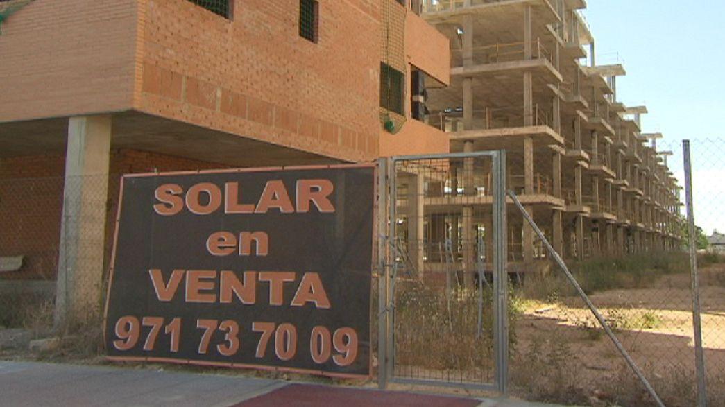 Spagna, gli effetti della bolla immobiliare