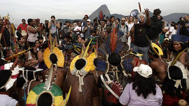 Brazil: protest over lack of progress ahead of Rio+20 Earth Summit
