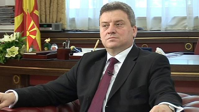 """We need EU membership"" - FYR Macedonia's president"