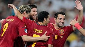 EURO 2012: Spain beat France to reach semi-finals