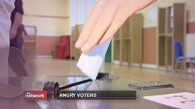 Voto de descontentamento castiga partidos europeus