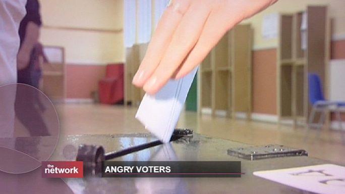 اصوات انتخابية غاضبة
