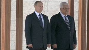 Putin praises Abbas for 'responsible' stance