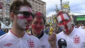 Euro 2012: A Ucrânia parece o Brasil em festa