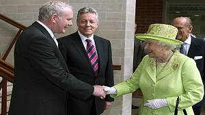 Historic handshake boosts Anglo-Irish relations