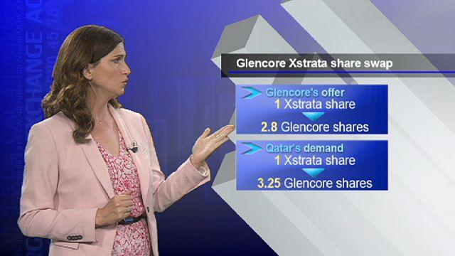 Glencore Xstrata birleşmesine Katar darbesi