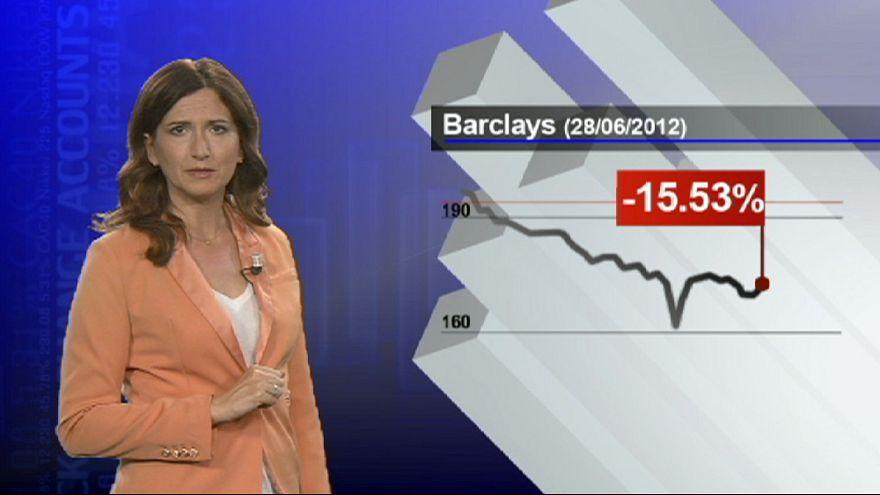 """قضية """"باركليز"""" تضرب بورصة لندن"""