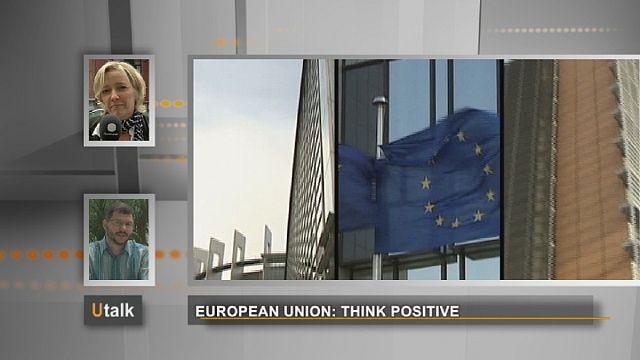 União Europeia: pense positivo