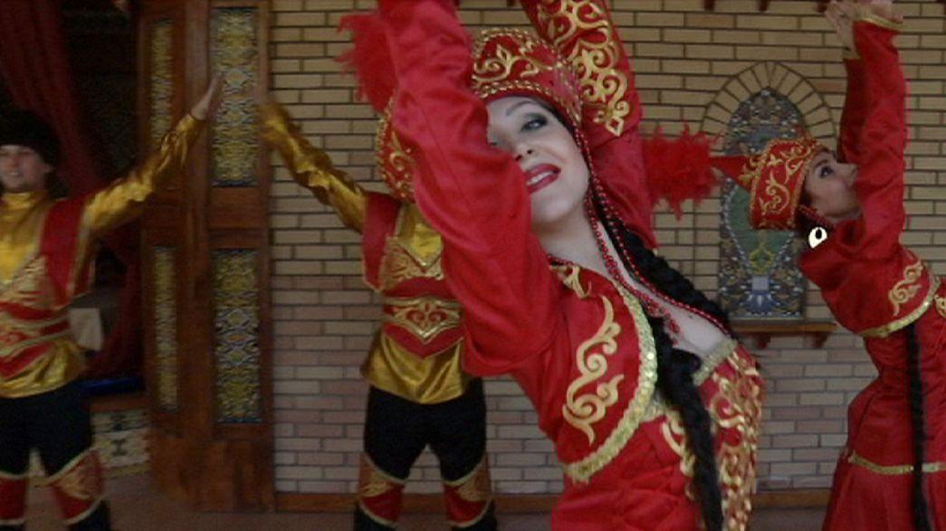 الحياة الكازخستانية: الاسترخاء في مدينة أستانا