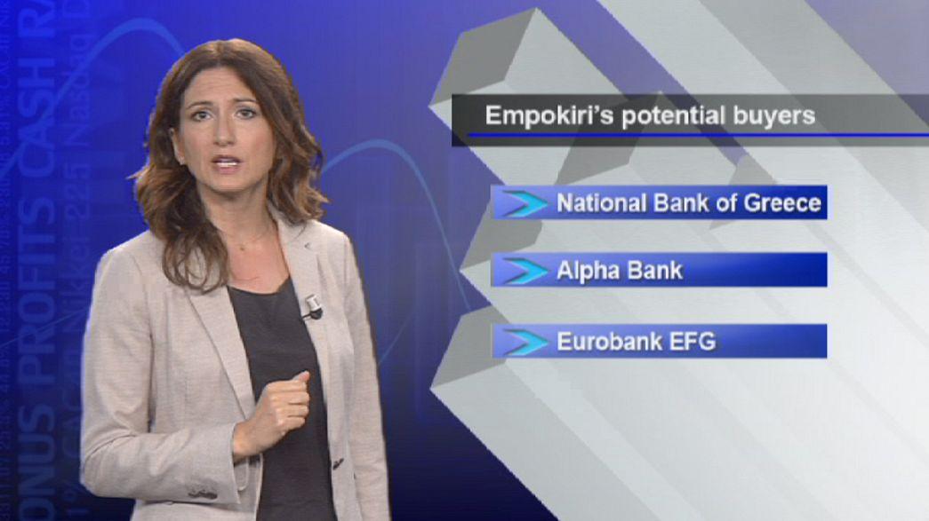 """انسحاب """"كريدي أغريكول"""" من اليونان يطمئن المستثمرين"""