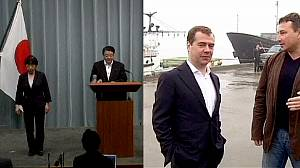 Medvedev angers Japan over island visit