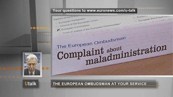 El Defensor del Pueblo Europeo a su servicio