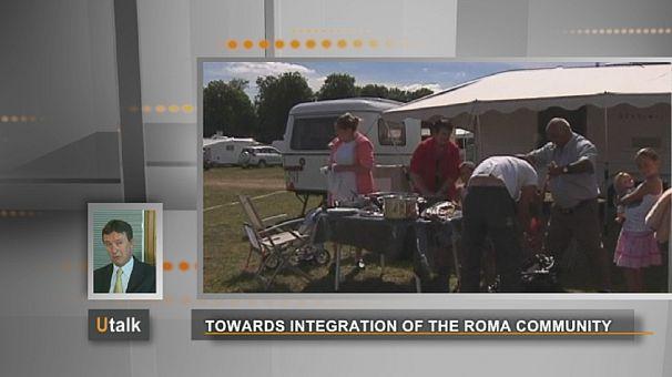 من اجل إندماج الغجر الروم في المجتمع الأوربي