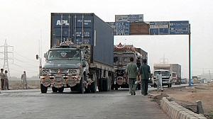 NATO's wagons roll back into Afghanistan