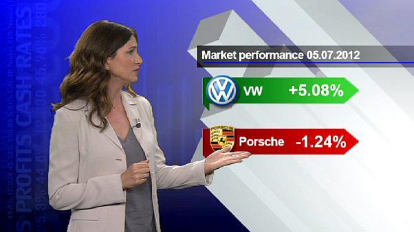 Volkswagen-Porsche-Deal bringt VW-Aktie satte Gewinne