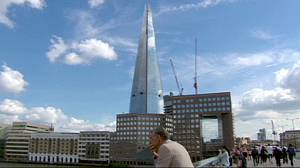 Super London skyscraper 'The Shard' is inaugurated