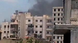 Renewed assault on Syria city of Homs